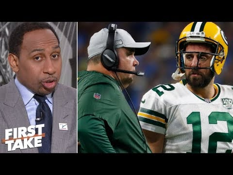 Aaron Rodgers 'quit on Mike McCarthy' – Stephen A. | First Take