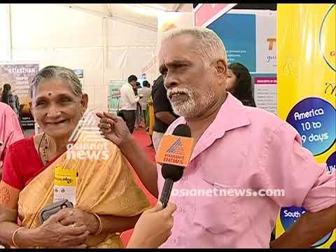 Travel couple Vijayan and Mohana visit Asianet News -Smart Traveller Expo - 2019