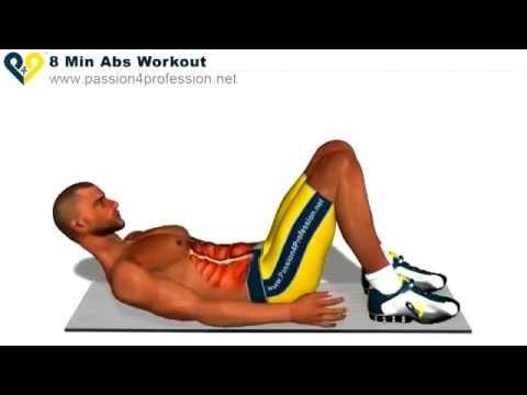Bài tập giảm cân, giảm mỡ bụng cho nam hiệu quả tại nhà