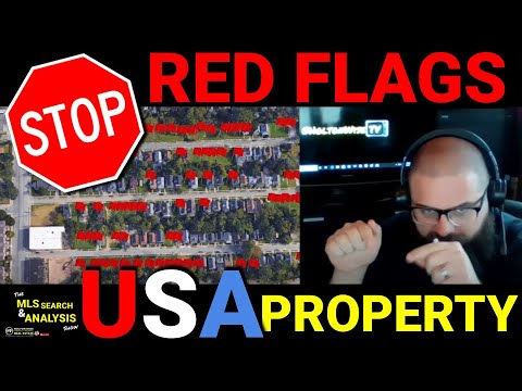 Real Estate Investing Red Flags | MLS Search & Analysis; 103 - 1825 Lakeview, 3441 W56 & 3302 Daisy