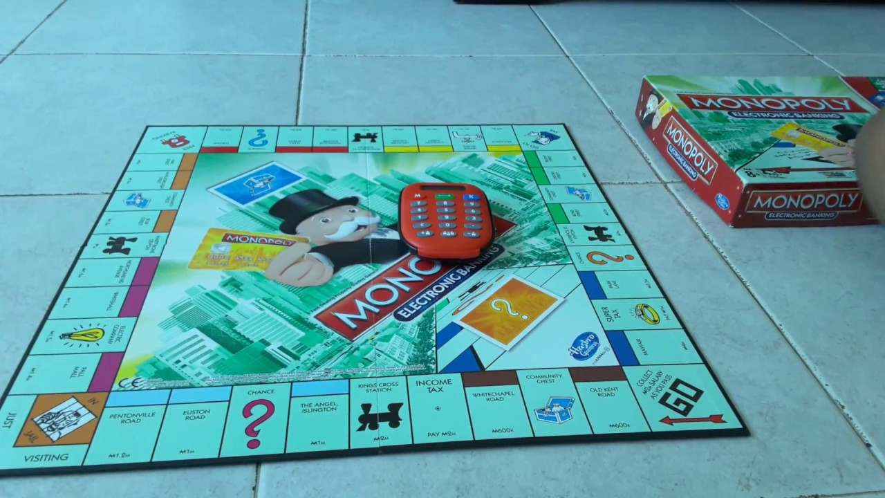 Monopoly Electronic Banking Rules Review Strategiesetc Youtube