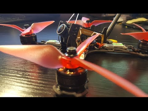How to Build a Racing Drone 2017 (F200, F4 Flame, F80)