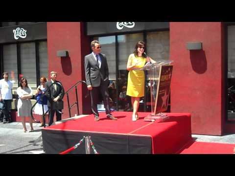 jane kaczmarek speech at star ceremony for bryan cranston 7 16 13