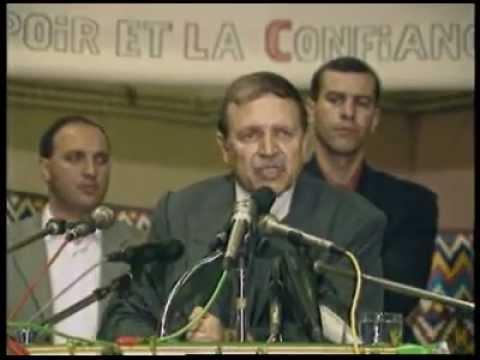 ALGERIE Abdelaziz Bouteflika : Nous sommes un peuple comme les autres
