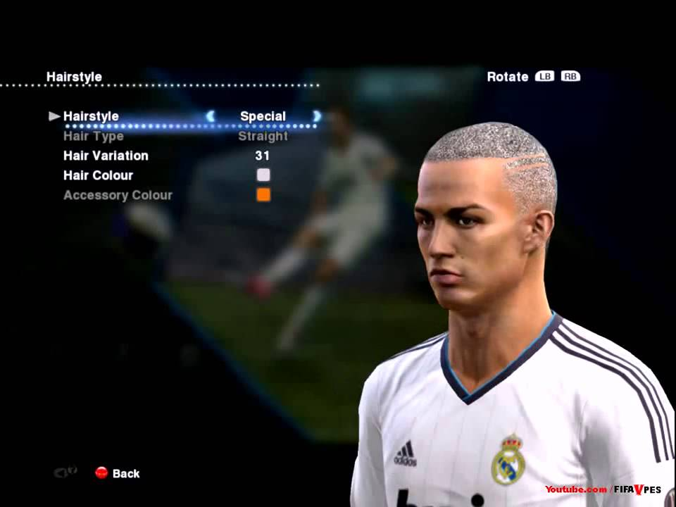 Pes 14cristiano Ronaldo New Hairstyle Special 2 Pes 2013 D