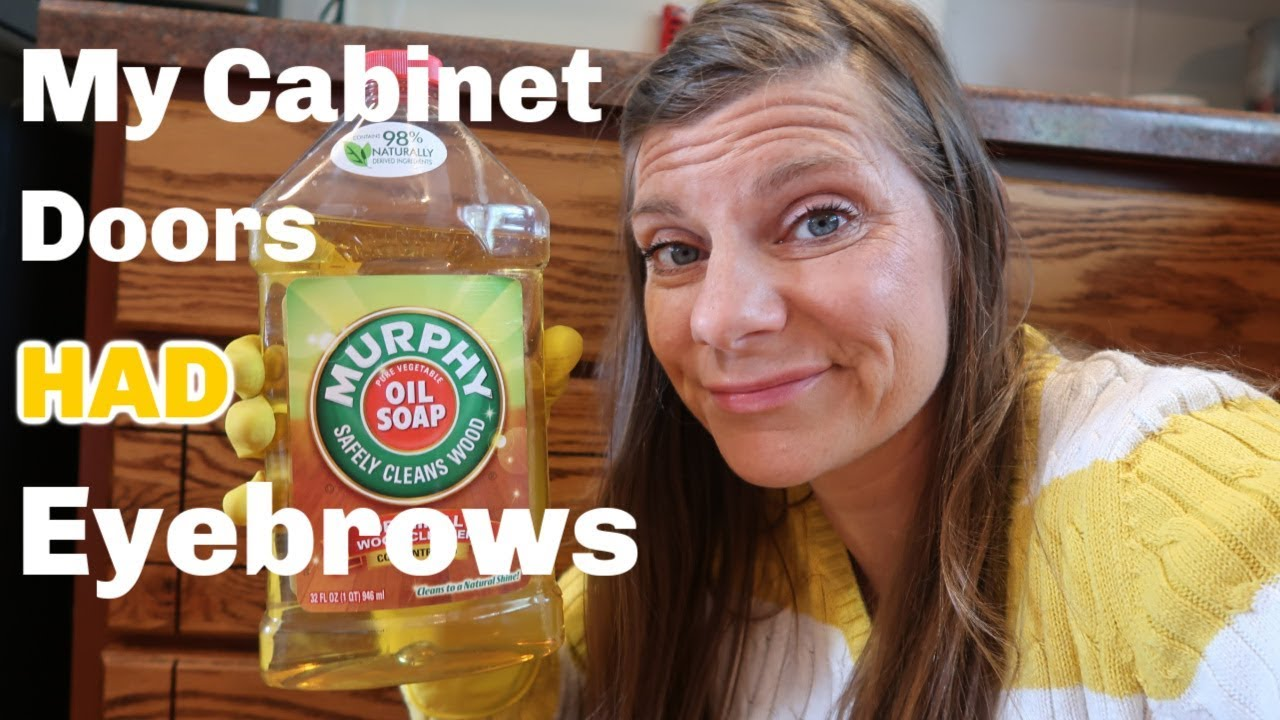 Restoring The Shine On Kitchen Cabinet Doors With Murphy Oil Soap Youtube