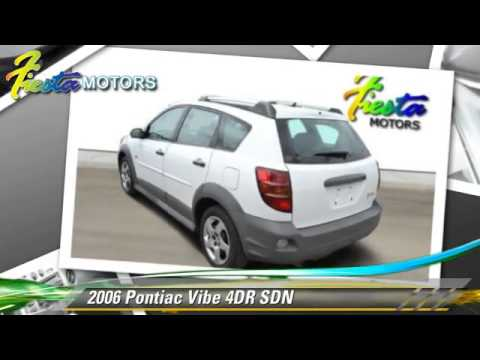 used 2006 pontiac vibe lubbock youtube