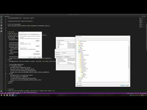 Installing GLFW and GLM in Windows 10 for Visual Studio and