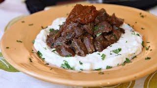 Lamb and Potato Diablo - Spicy American Lamb and Idaho Mashed Potatoes Recipe