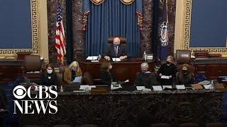 CBS News Special Report: Senate receives article of impeachment against Trump