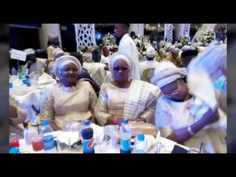 Senate President Bukola Saraki Gives Out Daughter's Hand in Marriage In Grand Style
