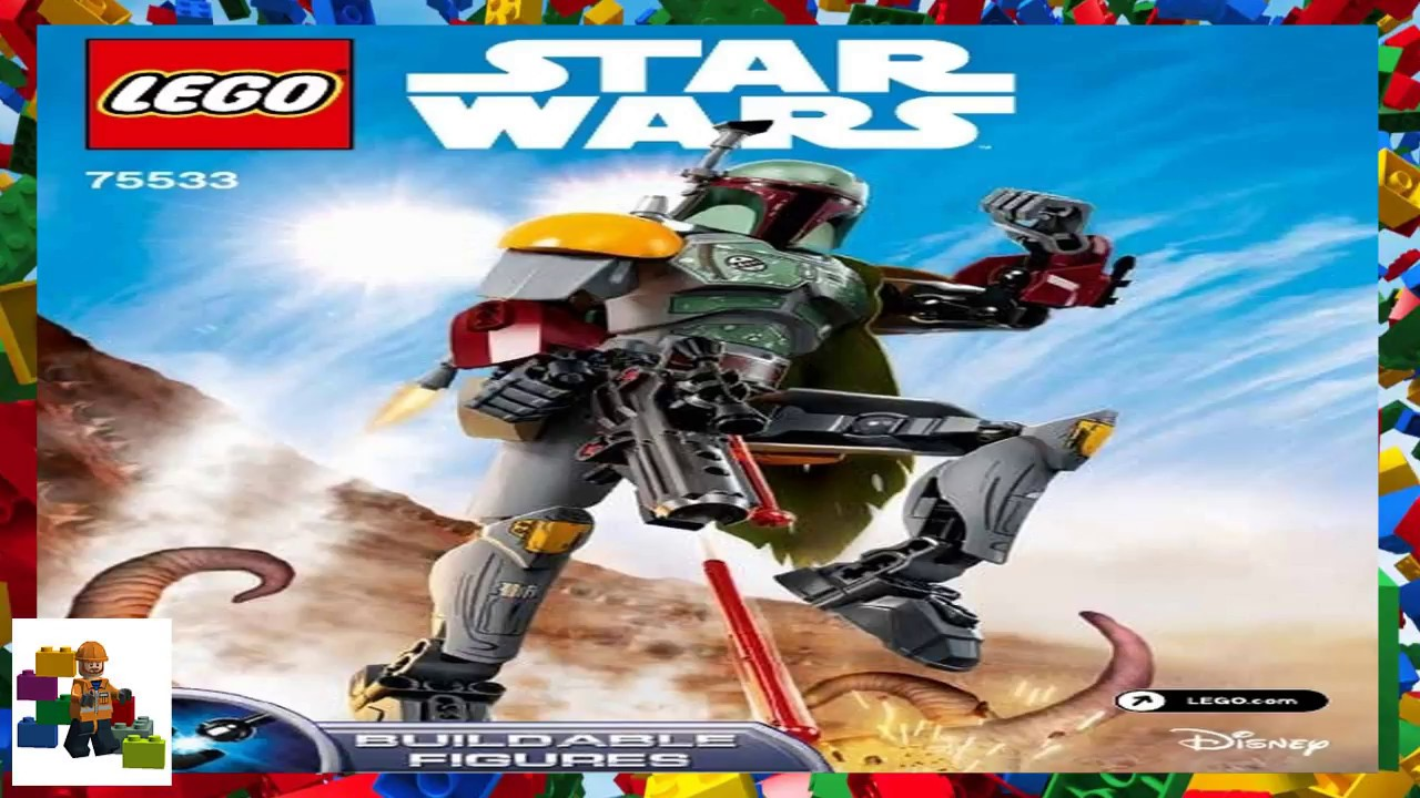 Lego Instructions Constraction Star Wars 75533 Boba Fett Youtube