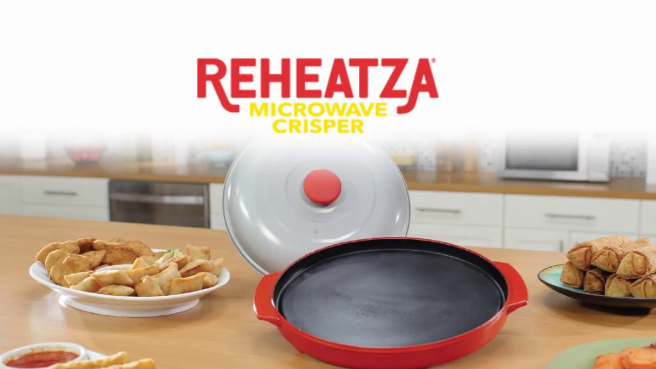 Reheatza Crisper Pan How To Use As Seen On Tv
