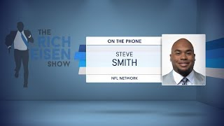 NFL Network's Steve Smith on Falcons Win Over Saints & More | The Rich Eisen Show | 12/8/17