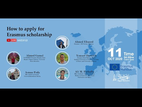 How to apply for Erasmus Scholarship?