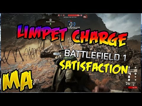 Battlefield 1 | The most satisfying kills using limpet charge - campers punishment.