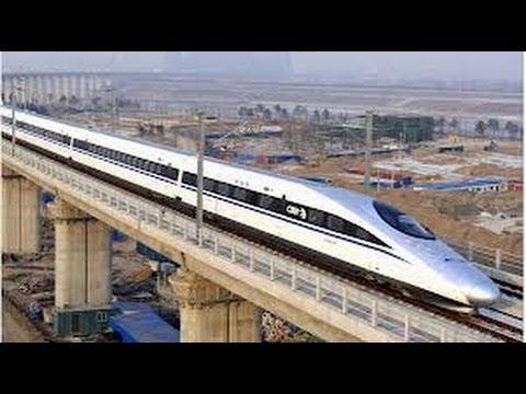 China Lanza la Línea de Tren de Alta Velocidad Más Larga del Mundo [IGEO.TV]