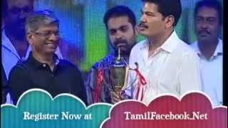 DIRECTOR SHANKAR   CAPTAIN OF THE SHIP TROPHY AT NANBAN 100TH DAY EVENT PART 2