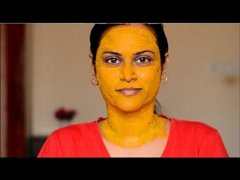 Lighten Face Neck Using Turmeric Youtube