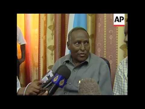 Ethiopian troops in capital, Somali pres. thanks Ethiopia, demo