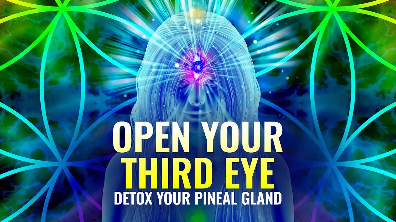 Open your Third Eye 🔯 Detox your Pineal Gland, Raise Intuitive Power 🔯 Binaural Beats