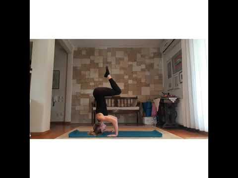 Strength and balance! Keep challenging yourself...