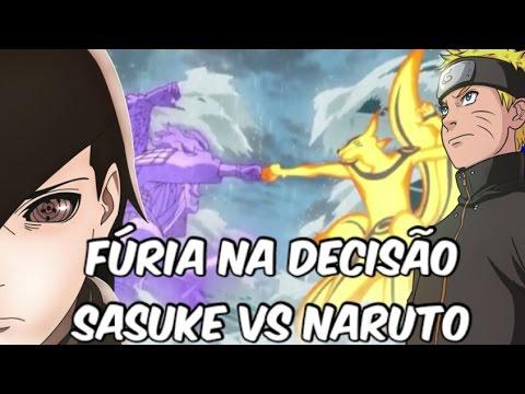 Naruto vs Sasuke |O batalha final| – Naruto shippuden ep 476 e 477 análise