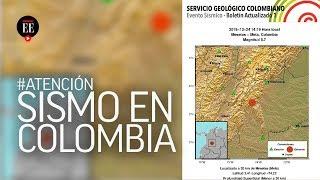 Dos sismos sacuden a Colombia en Navidad - El Espectador