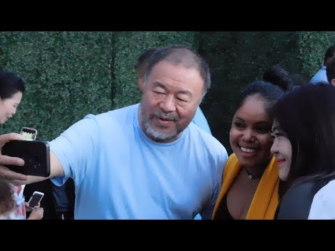 Ai Weiwei opening in Los Angeles Mp3
