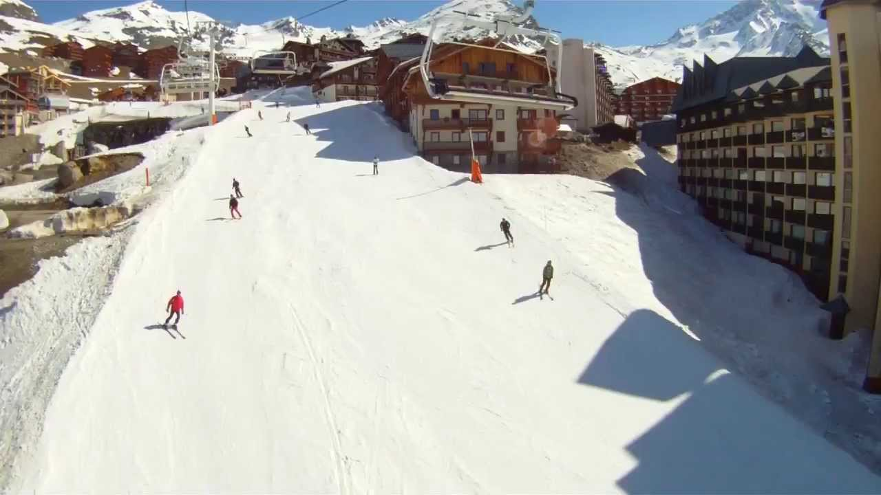 Val Thorens 2012 Monopod Drift Hd Stealth Actioncam Action Youtube