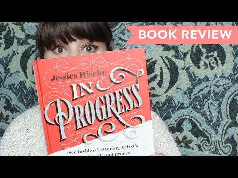 THE BOOK NOOK | In Progress by Jessica Hische