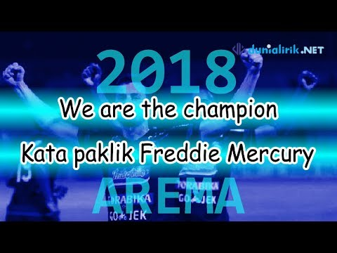 AREMA WE ARE THE CHAMPION 2018