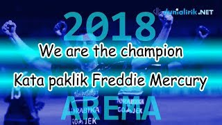 AREMA WE ARE THE CHAMPION 2018