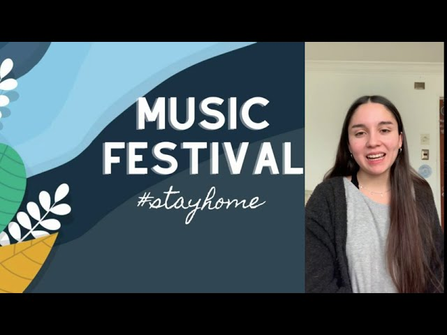 ¡Te invitamos al #StayHome Music Festival del Colegio Pumahue Curauma!