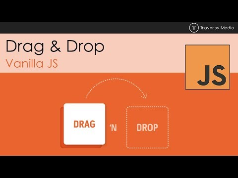 Drag & Drop With Vanilla JS