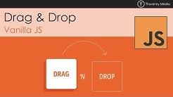 Drag & Drop With Vanilla JS