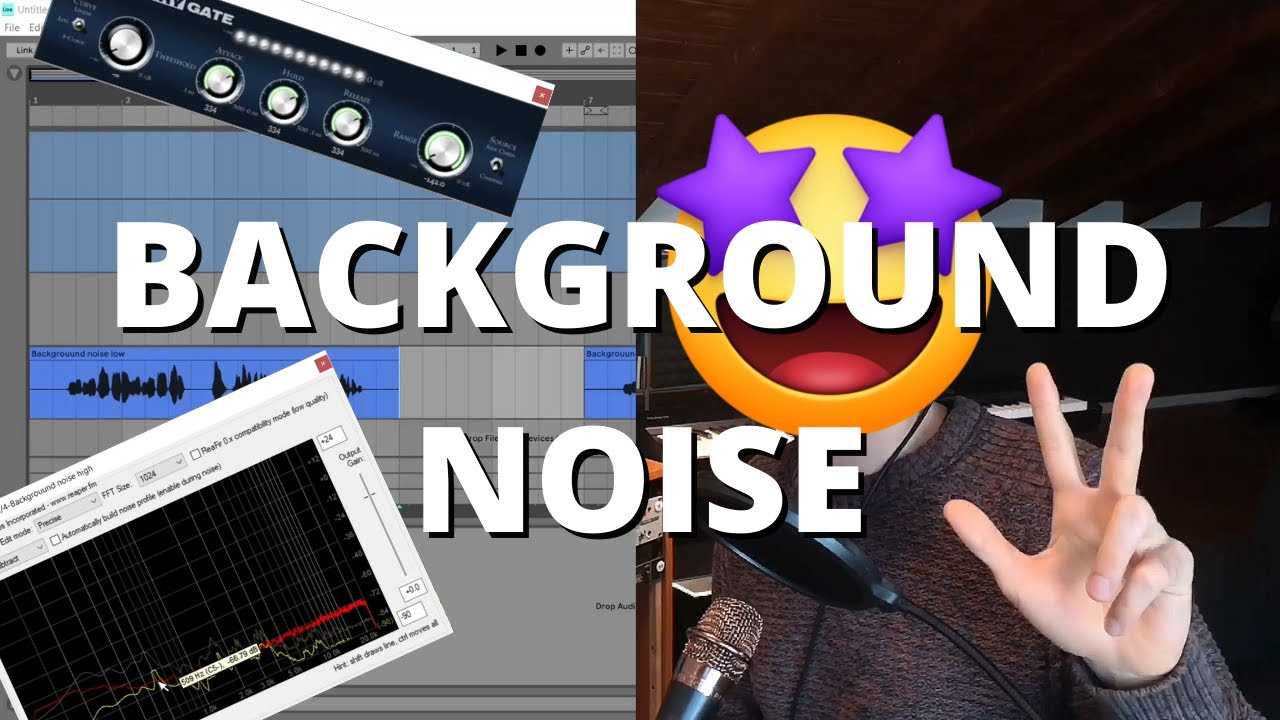 HOW TO REMOVE BACKGROUND NOISE   The best 3 FREE METHODS