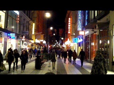 Stockholm 2012 at night, Sweden