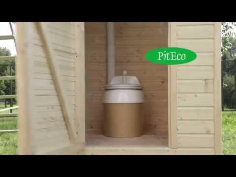 Компостирующий биотуалет Piteco 505