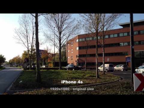 iPhone 4s video versus Samsung Pixon12