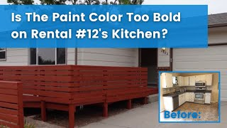 Selling Rental #12: Were We Too Bold With our Color Choice?