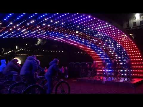 Spectra 2018 - Union Terrace Gardens Bikes, Aberdeen Festival of Light