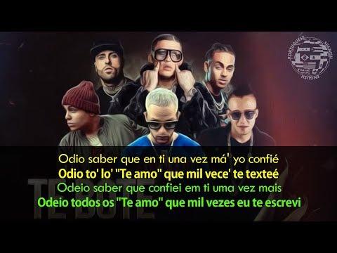 Te Bote Remix - Tradução  Legendado em Português Casper Darell Nicky Jam Bad Bunny Ozuna