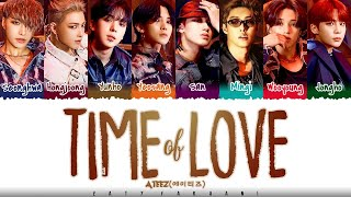 Download ATEEZ - 'TIME OF LOVE' Lyrics [Color Coded_Han_Rom_Eng]