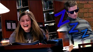 Snoring In A Library Prank
