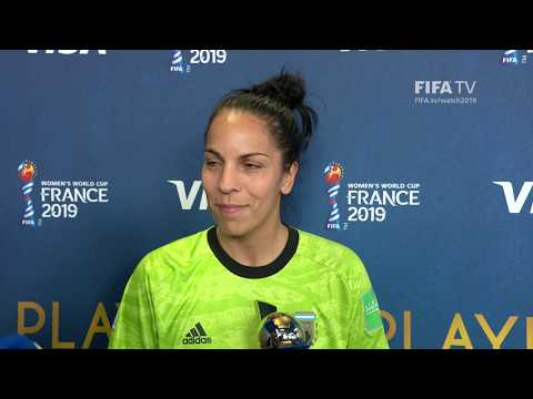 Vanina Correa – Player of the Match – England v Argentina