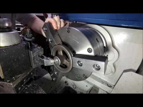 Cast Iron Handwheel Boring and Tapping 3