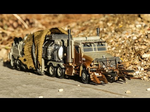 Transformers Movie Studio Serise SS-34 DOTM Leader Megatron Truck Robot Toy