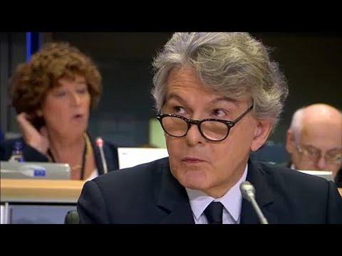 Francês Thierry Breton passou na audição no PE
