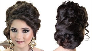 Stylish Bridal Hairstyle - Step by Step Tutorial